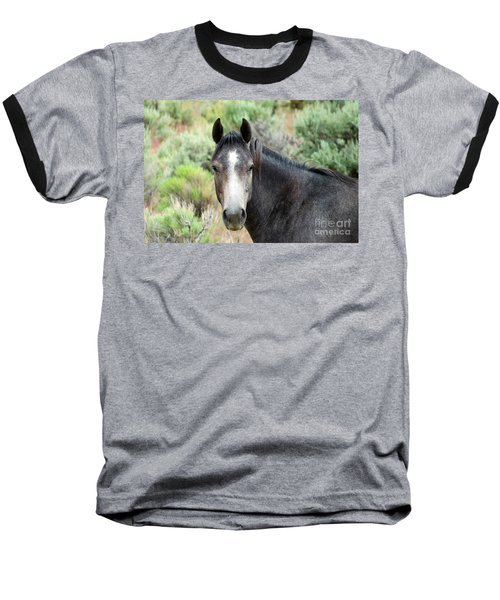 Baseball T-Shirt featuring the photograph Curious by Michele Penner