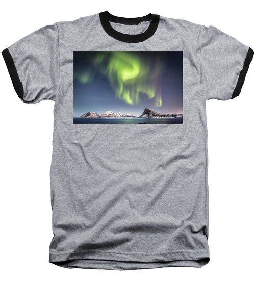Curtains Of Light Baseball T-Shirt