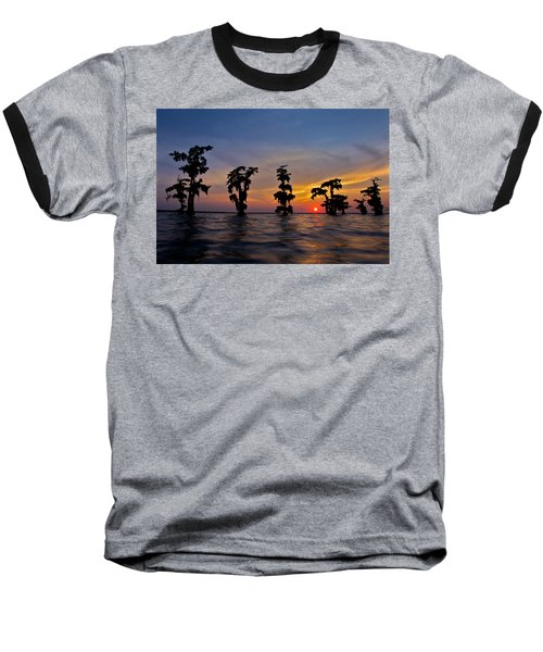 Cypress Trees Baseball T-Shirt