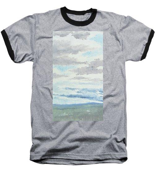 Dagrar Over Salenfjallen- Shifting Daylight Over Distant Horizon 9 Of 10_0029 Baseball T-Shirt