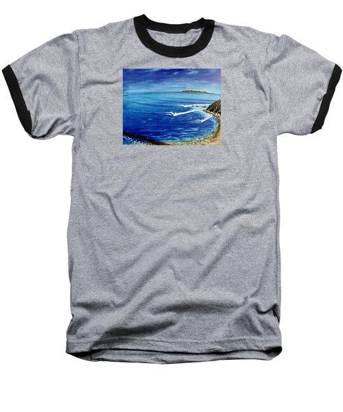 Dana Point 1950s Baseball T-Shirt