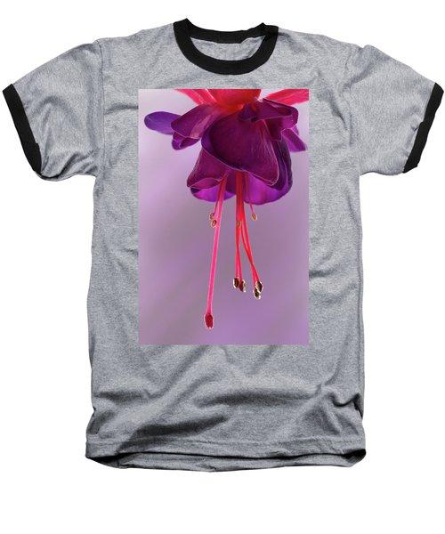 Dance Of The Fuschia Baseball T-Shirt