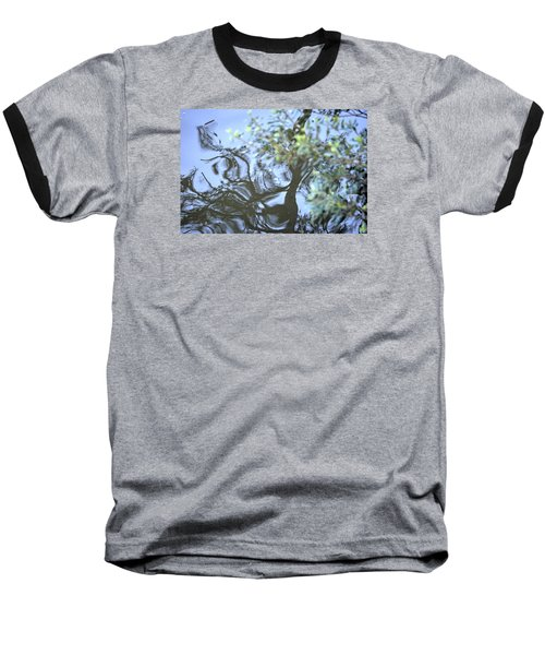 Dancing Leaves Baseball T-Shirt