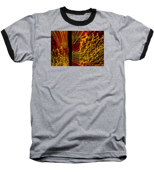 Baseball T-Shirt featuring the photograph Dancing Lights 5  by Penny Lisowski