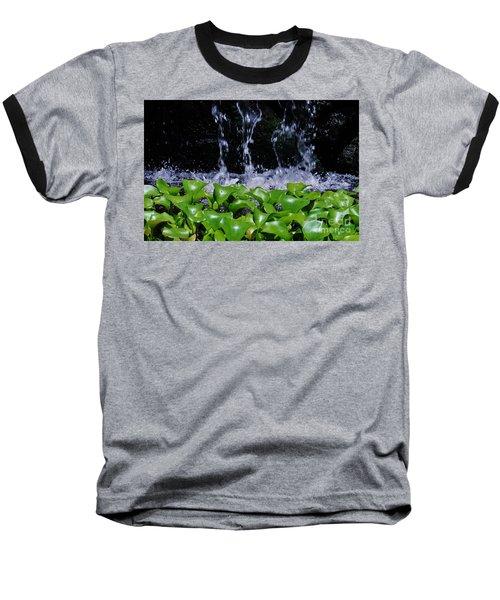 Dancing Water Baseball T-Shirt