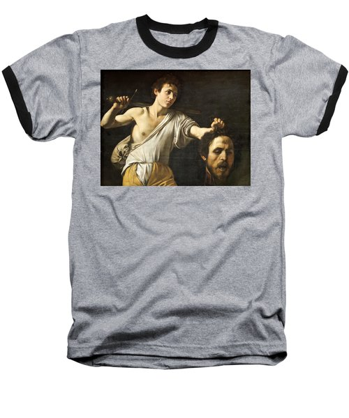 David With The Head Of Goliath Baseball T-Shirt