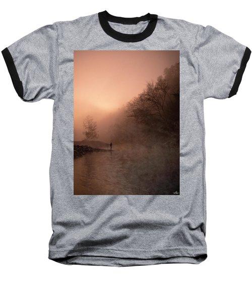 Dawn On The Lower Mountain Fork River Baseball T-Shirt