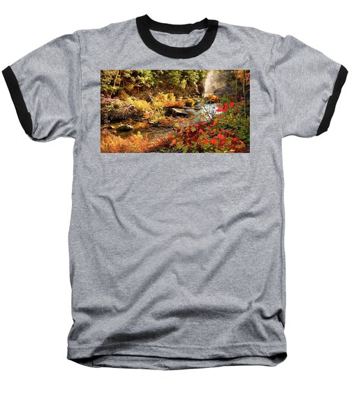 Dead River Falls  Marquette Michigan Baseball T-Shirt