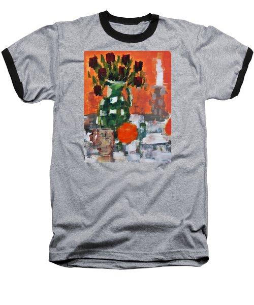 Dead Roses Baseball T-Shirt