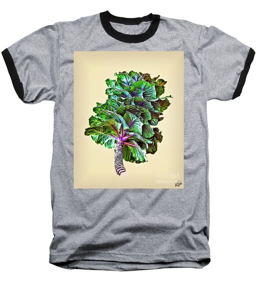 Baseball T-Shirt featuring the photograph Decorative Cabbage by Walt Foegelle