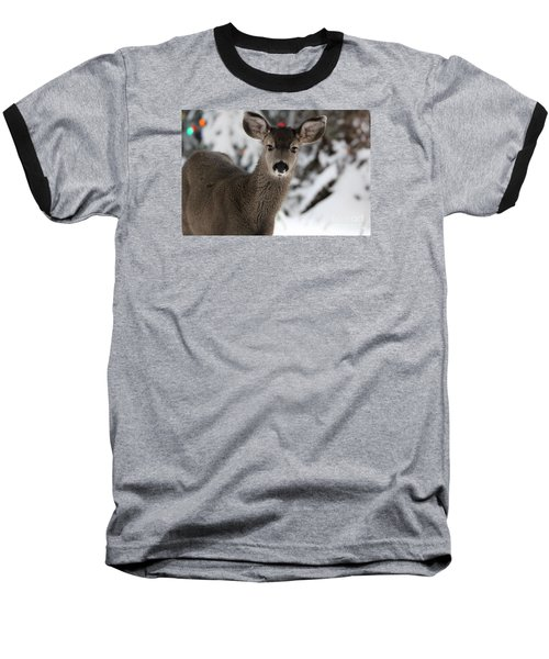 Baseball T-Shirt featuring the photograph Deer by Irina Hays