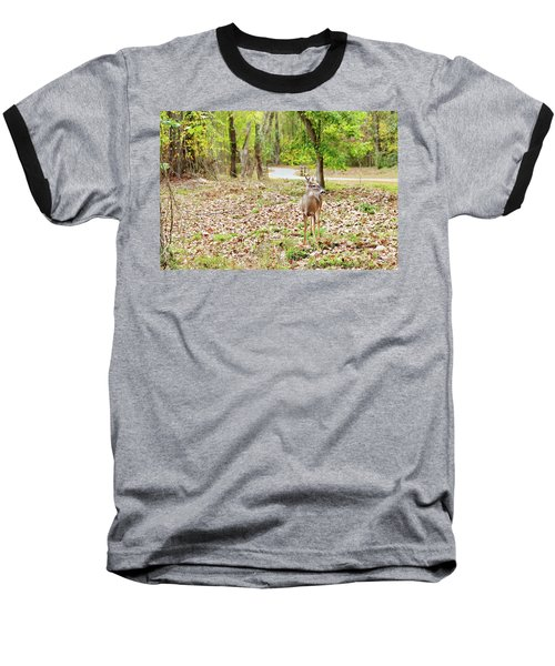 Deer Me, Are You In My Space? Baseball T-Shirt