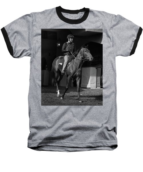 Del Mar Paddock Baseball T-Shirt