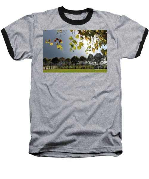 Denbies Vineyard Surrey Uk Baseball T-Shirt