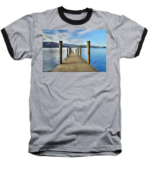 Derwent Water Pier Baseball T-Shirt