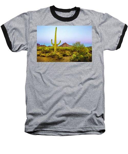 Desert Beauty Baseball T-Shirt by Barbara Manis