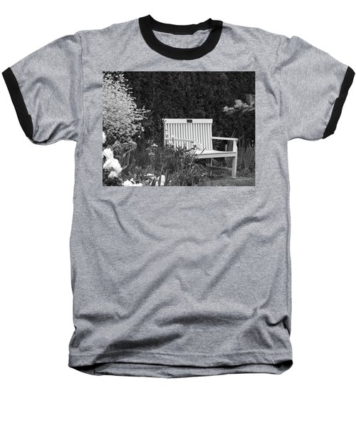 Desolate In The Garden Baseball T-Shirt