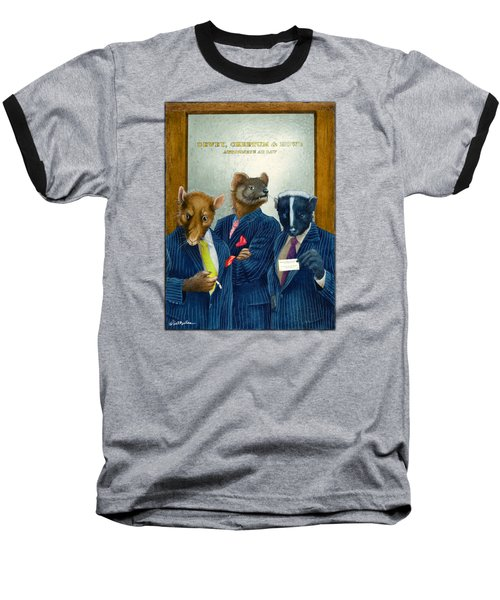 Dewey, Cheetum And Howe... Baseball T-Shirt