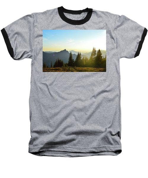 Dickerman Sunset Baseball T-Shirt