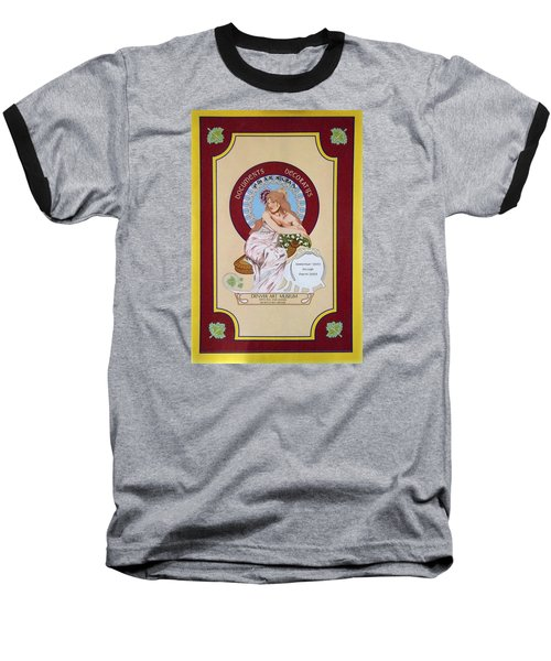 Digital Mucha Baseball T-Shirt