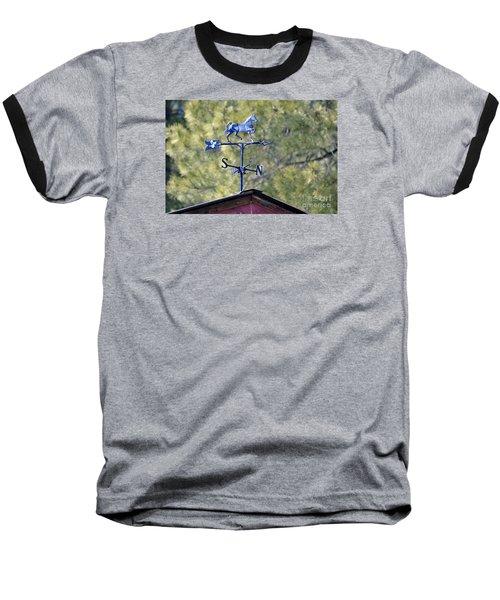 Baseball T-Shirt featuring the photograph Direction  by Juls Adams
