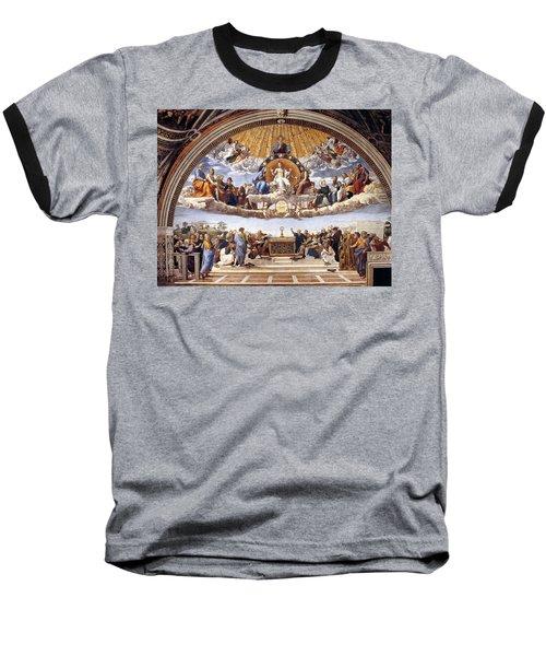 Disputation Of The Eucharist Baseball T-Shirt
