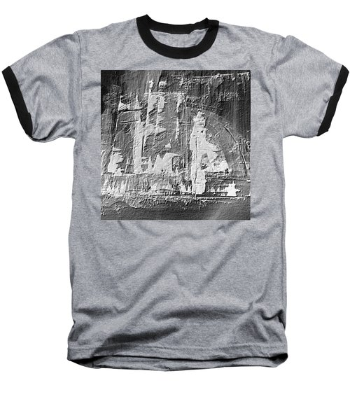Baseball T-Shirt featuring the painting Dj's World by 'REA' Gallery