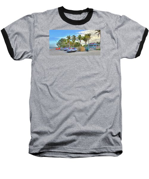 Docs Beach House Baseball T-Shirt
