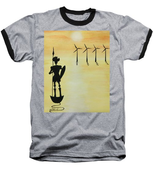 Don Quixote Baseball T-Shirt