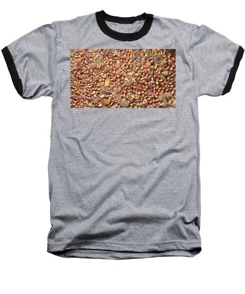 Donguri Means Acorn  Baseball T-Shirt