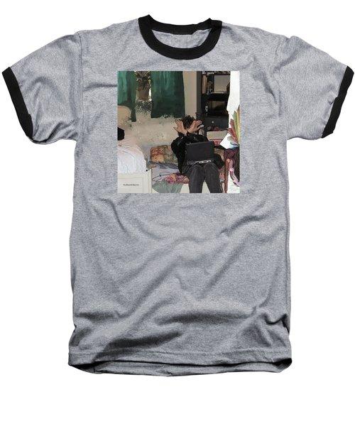 Don't Look At Me Baseball T-Shirt
