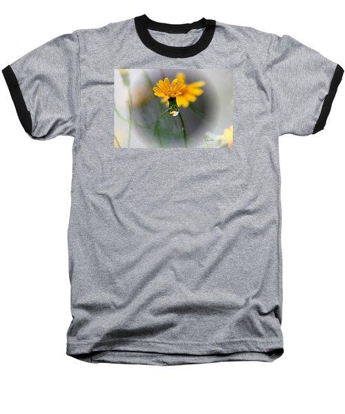 Double Yellow Baseball T-Shirt by Yumi Johnson