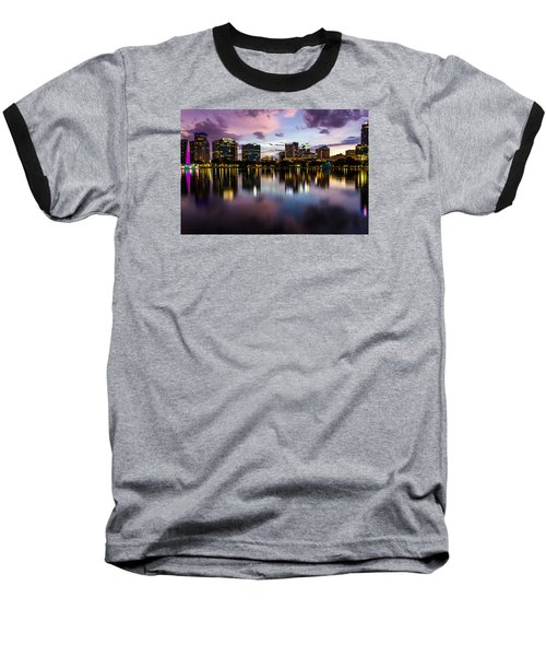 Downtown Orlando Baseball T-Shirt