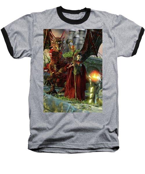 Dragon Queen Baseball T-Shirt