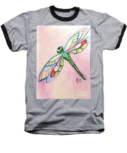 Dragonfly Baseball T-Shirt