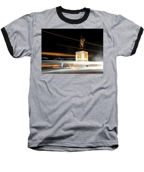 Drake's Statue Traffic Trails Iv Baseball T-Shirt