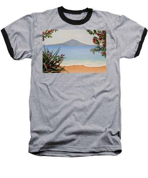 Dreaming Of Rangitoto Baseball T-Shirt