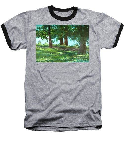 Dreaming On Fellows Lake Baseball T-Shirt
