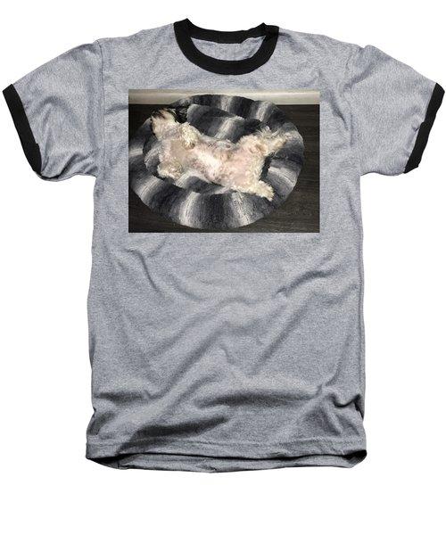 Dreamland Baseball T-Shirt by Val Oconnor