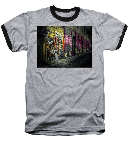 Baseball T-Shirt featuring the photograph Dreamscape by Wayne Sherriff