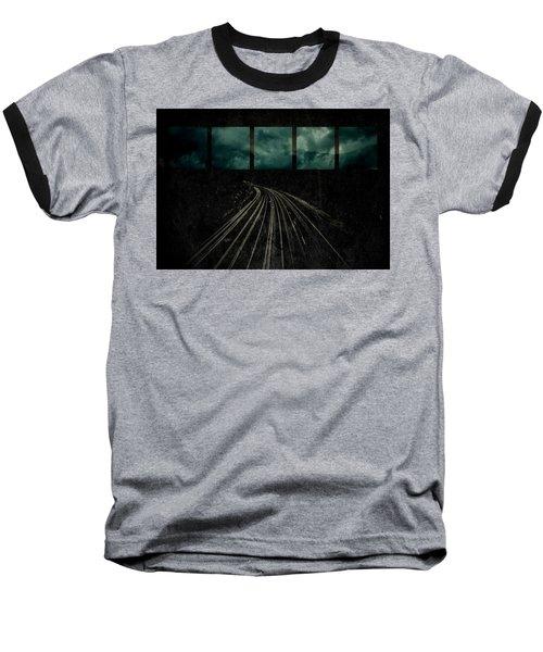 Drifting Baseball T-Shirt by Mark Ross