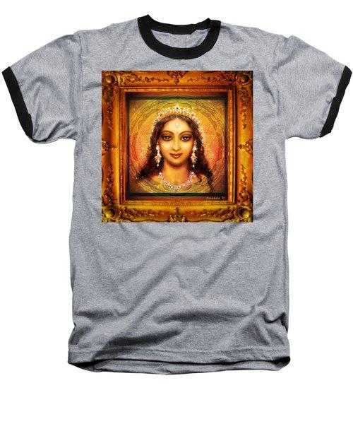Durga In The Sri Yantra  Baseball T-Shirt
