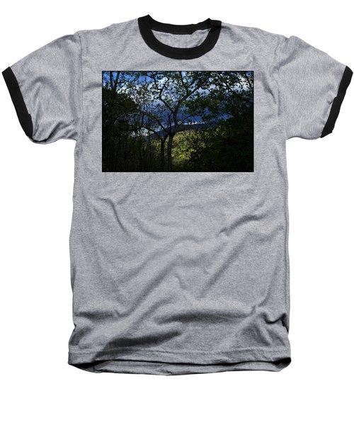 Dusk Baseball T-Shirt by Tammy Schneider