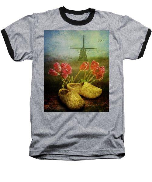 Dutch Heritage Baseball T-Shirt