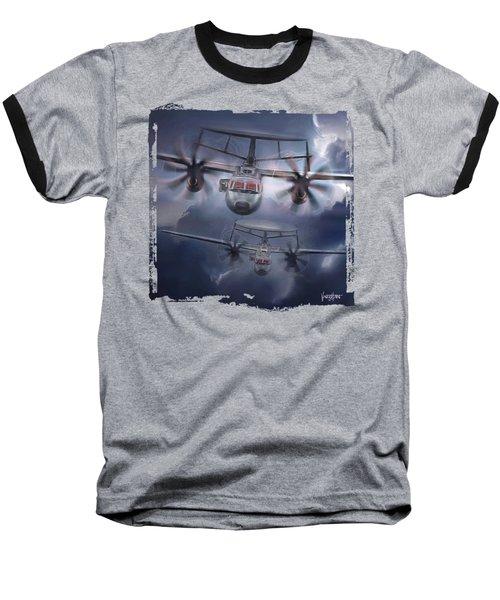 E-2d Hawkeye Baseball T-Shirt