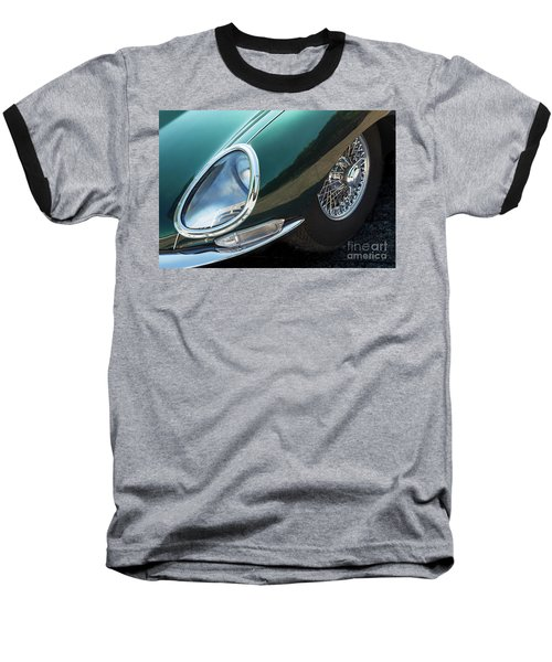 Baseball T-Shirt featuring the photograph E-type by Dennis Hedberg