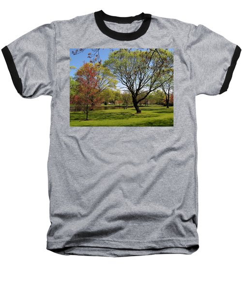 Early Spring Baseball T-Shirt by John Scates