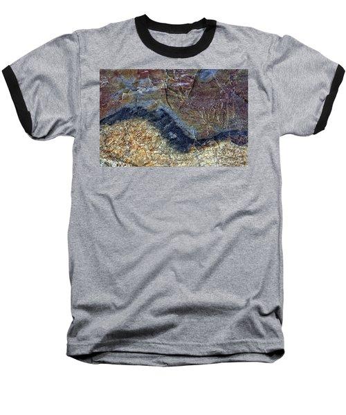Earth Portrait 000-205 Baseball T-Shirt