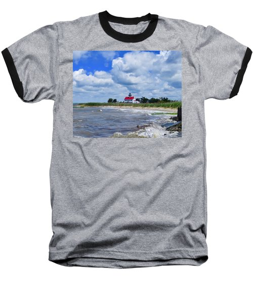 East Point Lighthouse  Baseball T-Shirt