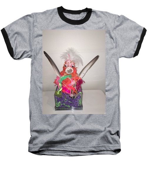 Funky Chicken Baseball T-Shirt